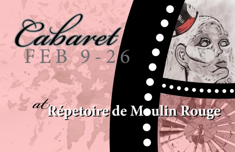 cabaret postcard front