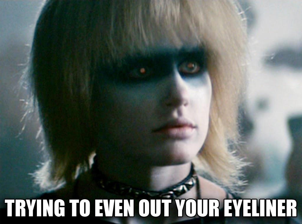 eyeliner meme?w=940 blade runner craftie beaver